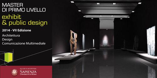 Master exhibit public design facolt di architettura for Master architettura