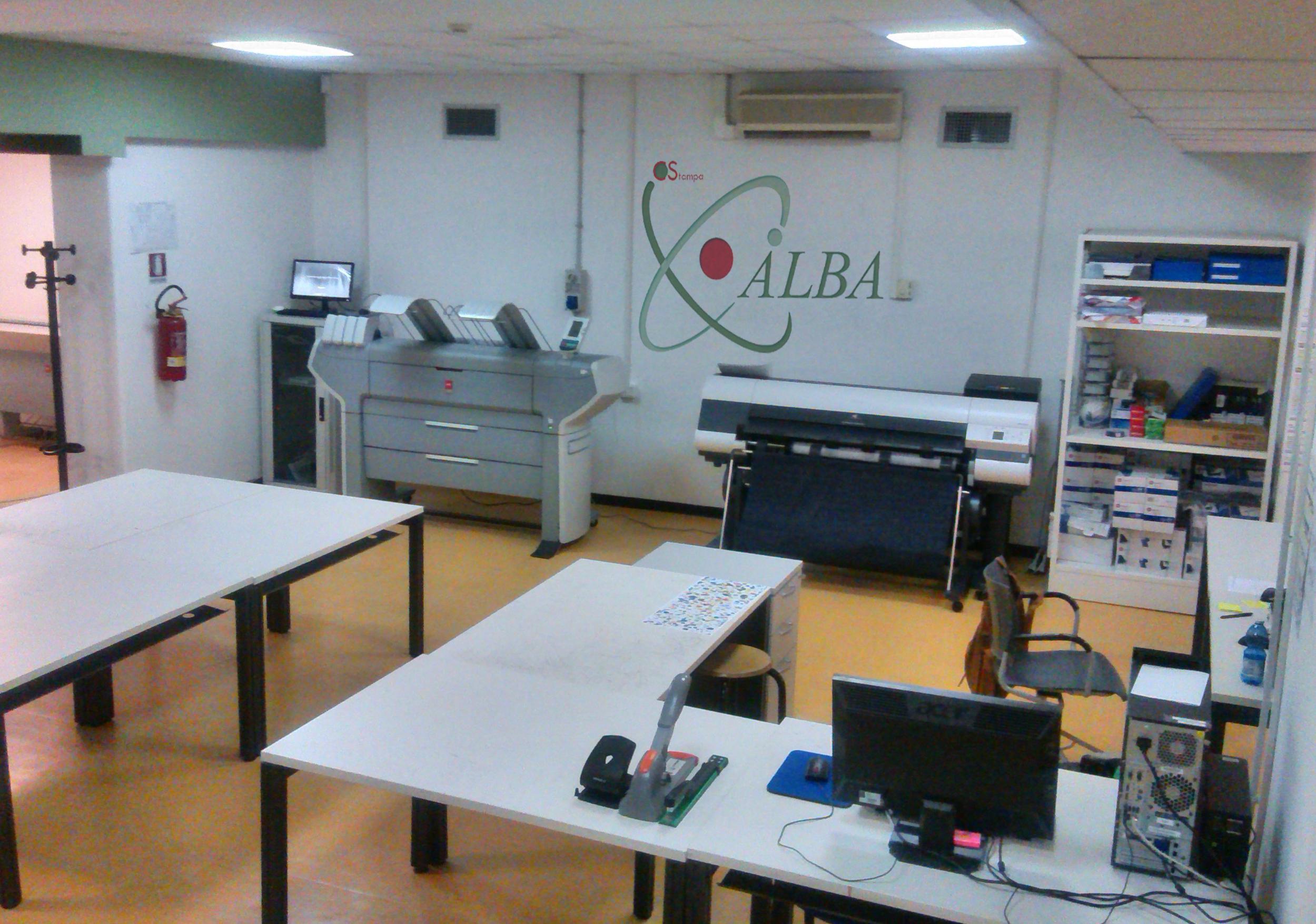 centro stampa ALBA sede Via Gianturco