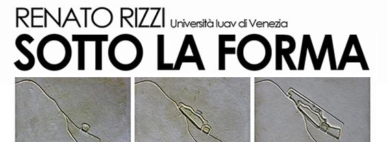 Urban Morphology International lecutres: RENATO RIZZI