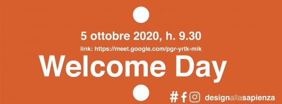 WELCOME DAY CdL Design aa 2020-21