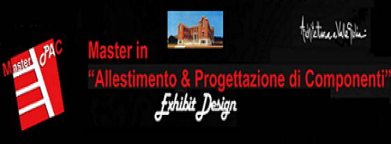 master allestimento e progettazione
